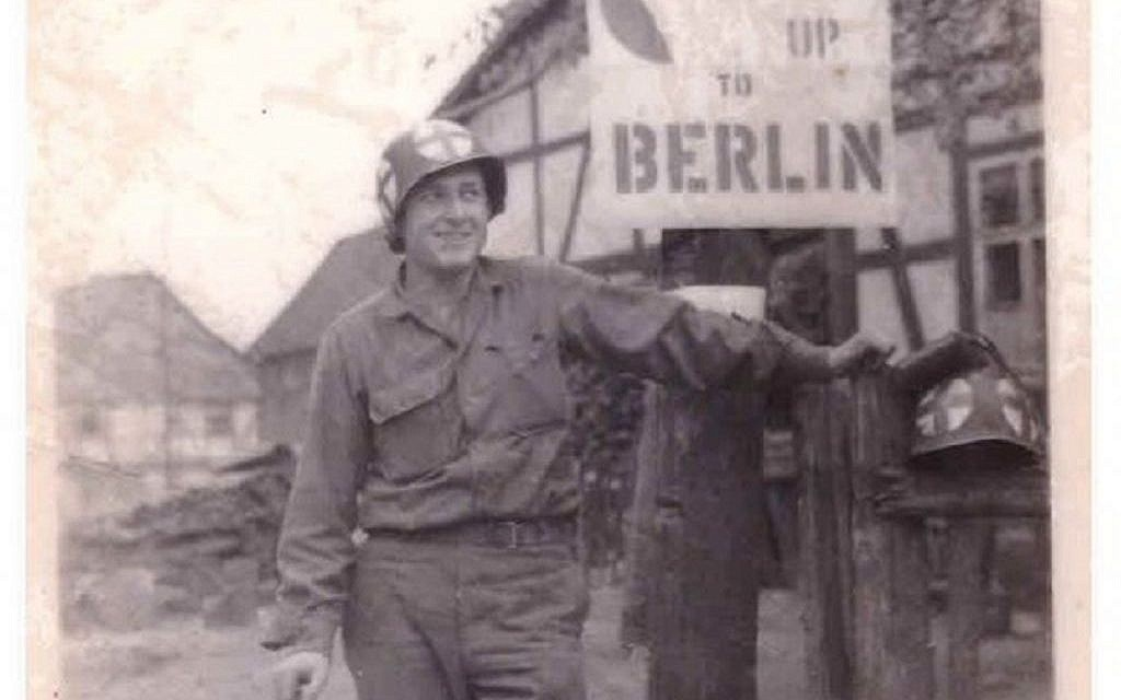 Jules Helfner north of Gottingen, Germany, in April 1945. (Jules Helfner)