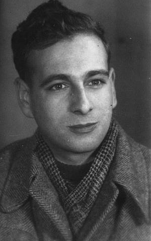 Jonathan Wittenberg's father Adi Wittenberg as a young man (courtesy)