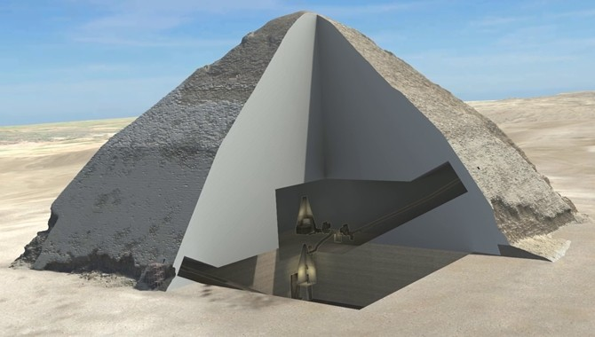 Scientists Use Cosmic Rays To Peek Inside Egypts Pyramids The - Map of egypt pyramid locations