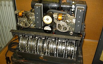 German Lorenz cipher machine used for sending coded messages during WWII (CC BY Timitrius/Flickr)