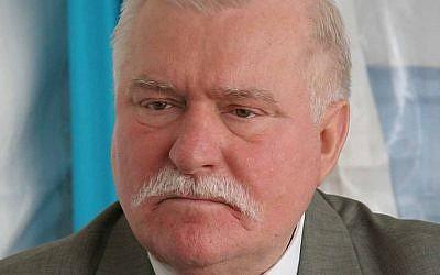 Former Polish president Lech Walesa (CC BY-SA, Wikimedia/MEDEF)