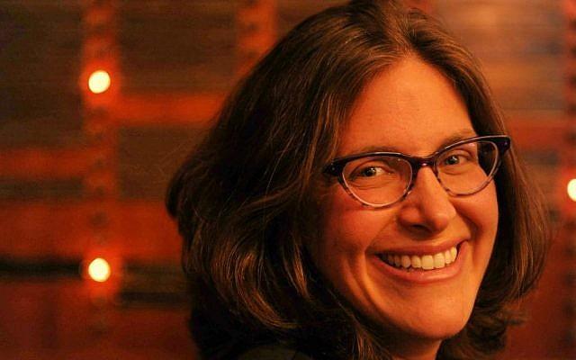 Amanda Borschel-Dan, the Times of Israel's Jewish World editor. (Aurele Medioni)