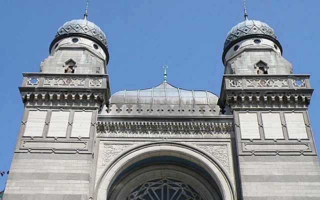 The Antwerp Central Synagogue in Antwerp, Belgium. (Wikimedia Public Domain)