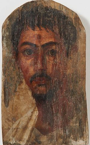 A Flavian-era mummy portrait of a young man from the University of Zurich restituted to the heirs of a German Jewish publisher in April 2016. (Frank Tomio; University of Zurich)