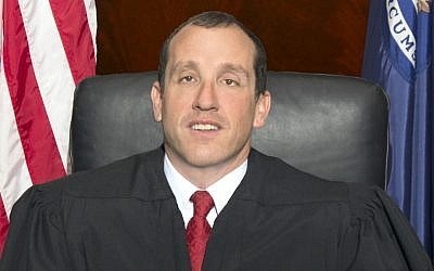 Michigan Supreme Court Justice Richard H. Bernstein was elected last year as the first visually-impaired judge to fill the position. After years of working as an attorney advocating for people with and without disabilities, Bernstein can continue his campaign from the bench (courtesy)