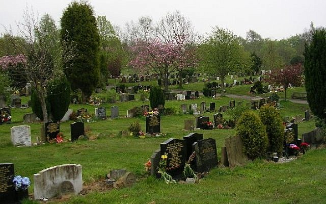 Blackley Cemetery in Manchester (CC BY-SA Keith Williamson, Wikipedia)