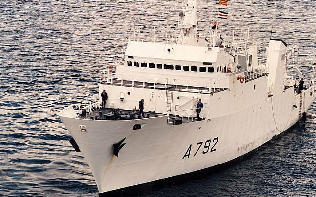 The French navy's Lapérouse class hydrographic survey vessel Borda, one of France's three Lapérouse class vessels. The other two are the Lapérouse and the Laplace. (Wikipedia/Marine nationale/CC BY-SA 3.0)