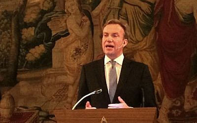 File: Norwegian Foreign Minister Borge Brende in Oslo, 2015. (Bjoertvedt/Wikimedia/CC BY-SA 4.0)