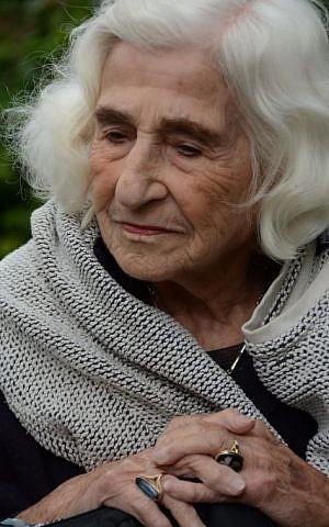 Dorothy Bohm at Hughenden Manor, June 21, 2015 (Rick Stoller)