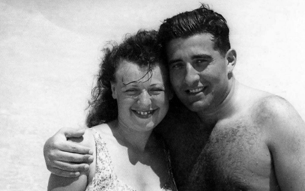 Isabel and Reuben (Ruby) Schiller in Cuba in the early 1940s (Courtesy)