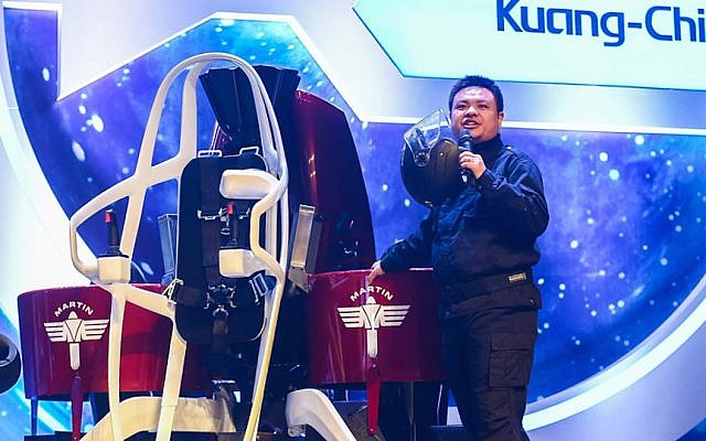 Dr. Ruopeng Liu, Chairman of Kuang-Chi Group (Courtesy)