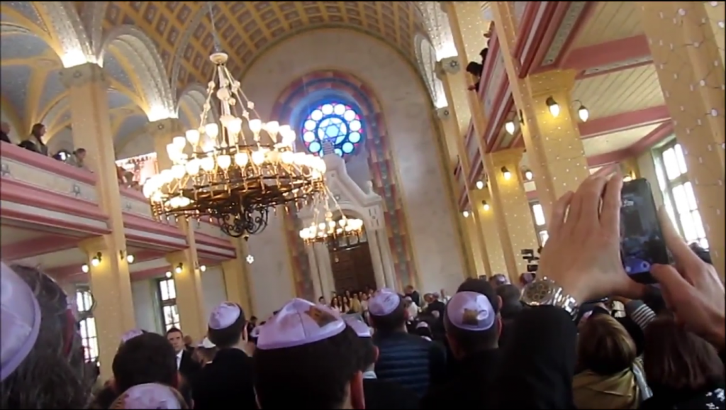 For first time in decades, famous Turkey shul hosts ...