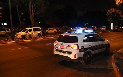 Illustrative: A Police car (Moti Karelitz/Flash90)