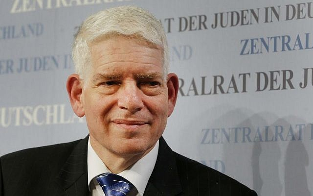 Josef Schuster, the new president of the  Central Council of Jews in Germany, attends a press conference in Frankfurt on Nov. 30, 2014. (AP Photo/Michael Probst,)