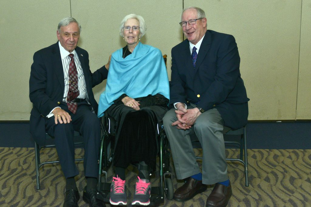 Alfred Lakos, Barbara Blankinship, and Steve Walton (courtesy of Jim Medford Photography)