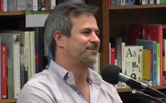New York Times editor Jonathan Weisman. (screen capture: YouTube)