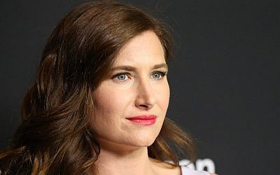 "Kathryn Hahn arrives at the FYC special screening for Amazon's ""Transparent"" held at DGA Theater on May 5, 2016 in Los Angeles, California.  (Michael Tran/FilmMagic)"