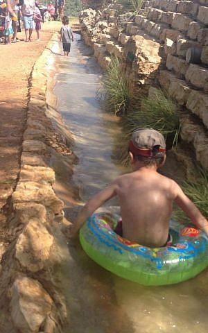 Kedumin water park (Eliyahu Kamisher)