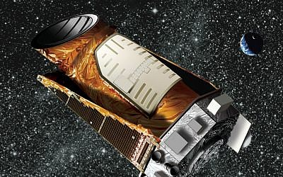 Artist's impression of the Kepler space telescope in orbit. (NASA/public domain)