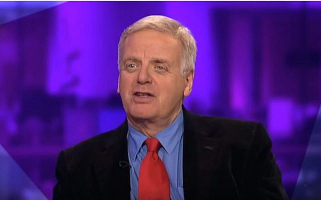Former chairperson of the BBC, Michael Grade. (YouTube/Channel 4 News)