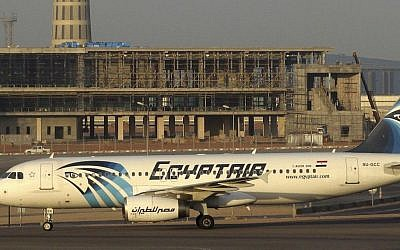Illustrative image of an EgyptAir Airbus A320 on the tarmac at Cairo airport, December 10, 2014 image. Egyptian aviation officials said that an EgyptAir flight travelling from Paris to Cairo had crashed, May 19, 2016. (AirTeamImages via AP)