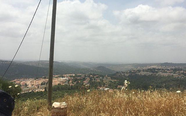Overlooking Karnei Shomron (Eliyahu Kamisher)