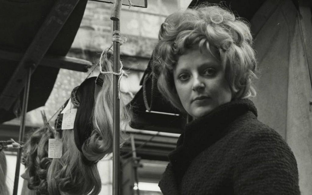 Detail from 'Petticoat Lane, Sunday market, with stall-holder,' by Dorothy Bohm, taken in 1960s London (courtesy)
