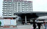 Entrance at the Rambam Medical Center in Haifa, January 30, 2011. (Moshe Shai/Flash90/File)