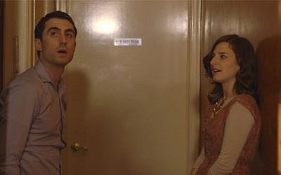 David (Danny Hoffman) and Sarah (Sara Scur) in 'Soon By You' (Dignity Entertainment)