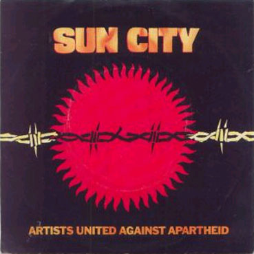 Sun City single cover, 1985
