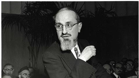 Rabbi Joseph Dov Soloveitchik. (Yeshiva University)