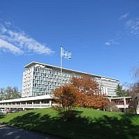 The World Health Organization headquarters in Geneva, Switzerland. (CC BY-SA Thorkild Tylleskar/Wikipedia)