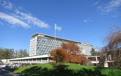 The World Health Organization headquarters in Geneva, Switzerland. (CC BY-SA Thorkild Tylleskar/Wikipedia)