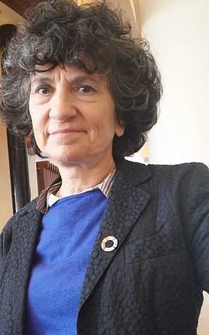 Ayla Matalon (Simona Weinglass/Times of Israel)