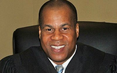 Georgia judicial candidate Roderick Bridges, who is running against DeKalb County State Court Judge Dax Lopez on May 24, 2016. (Screen shot campaign website yourjudgebridges.com)