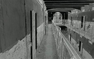 A photo from the inside of the as yet incomplete National Museum of Italian Judaism and the Shoah (MEIS), located in the city of Ferrara, Italy. (Courtesy MEIS website)