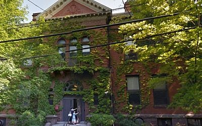 The New Haven Yeshiva (screen capture: Google Street View)