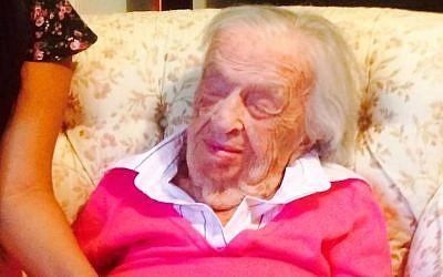 Goldie Michelson (JTA/Screenshot)