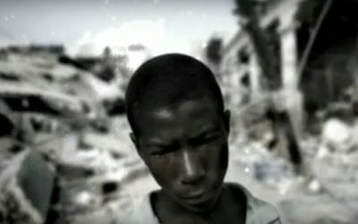 A child slave in Haiti (YouTube screenshot)