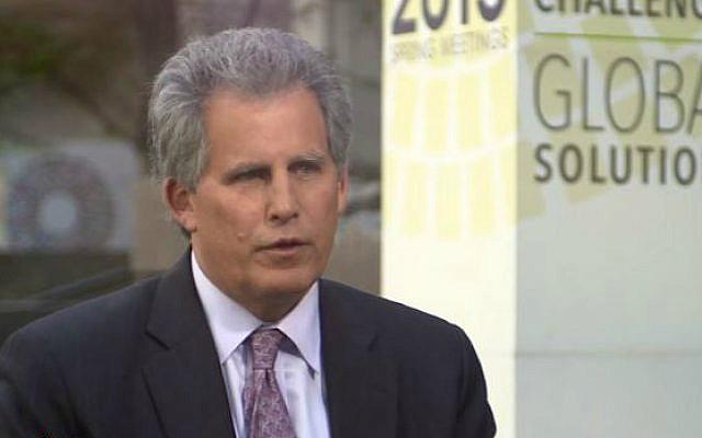 International Monetary Fund First Deputy Managing Director David Lipton (YouTube screen capture)