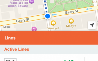 Moovit screenshot (Courtesy)