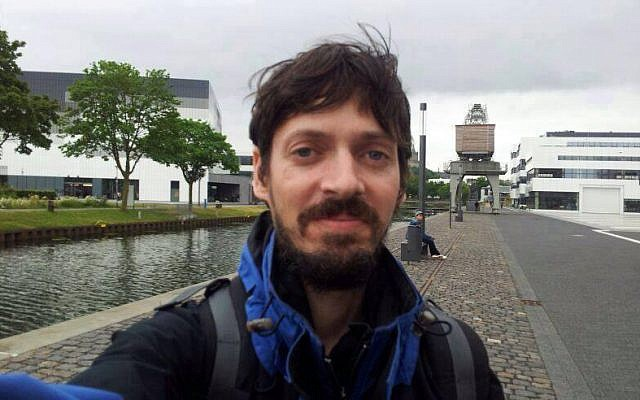Ofir Gross, an Israeli tourist who went missing in April 2016 in Hungary. His body was located by Hungarian authorities on May 1, 2016. (Facebook)