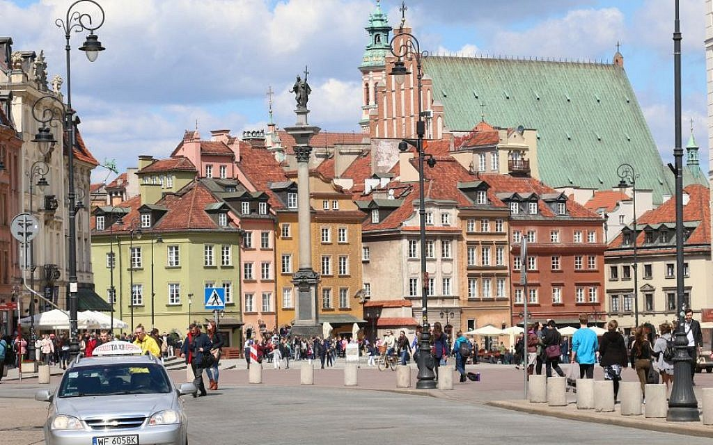 Warsaw's Old Town dates back to the 13th century. (Shmuel Bar-Am)