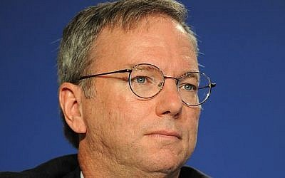 Eric Schmidt. (Guillaume Paumier, CC-BY/Wikimedia)