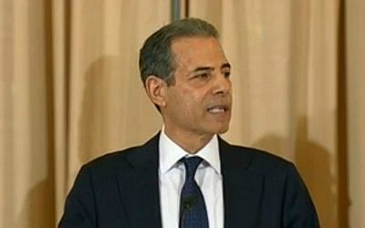 US Under Secretary of State for Public Diplomacy and Public Affairs Richard Stengel. (State Department video/screen capture)