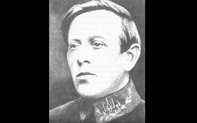 Symon Petliura, a 1920s Ukrainian statesman blamed for the murder of 50,000 Jewish compatriots (YouTube screenshot)