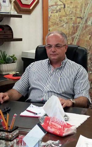Mayor of Tayibe Shuaa Masarwa Mansur (Dov Lieber / Times of Israel)