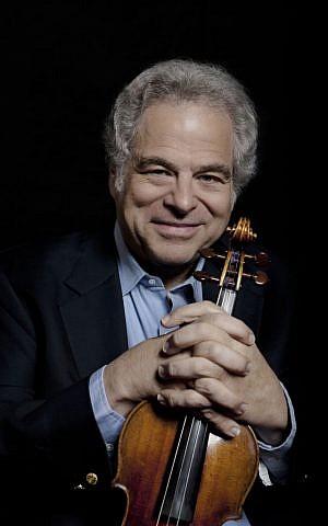 Israeli-American violinist Itzhak Perlman (Lisa Marie Mazzucco)