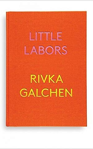 Cover of 'Little Labors' by Rivka Galchen [New Directions, 2016] (Courtesy)