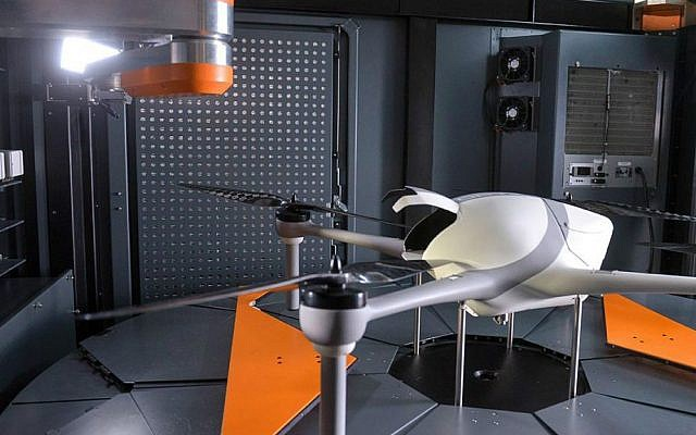 Airobotics' drone platform  (Courtesy)